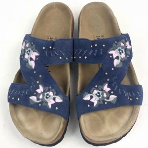 f17da8f923a7 Birkenstock Shoes - Birkenstock Betula Zara Embroidered Floral Sandal